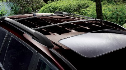 cross bars roof rack set highlander 08