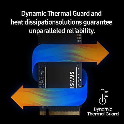 Samsung SSD 970 PRO 512GB - NVMe PCIe M.2 2280 SSD (MZ-V7P512BW), Black/Red