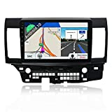 Android 10 Double Din Car Stereo for Mitsubishi Lancer 2010-2016 GPS Navigation Head Unit | 2G+32G |Free Backup Camera & Canbus | 10.1 Inch HD Screen | Support Steering Wheel Bluetooth Google WiFi 4G