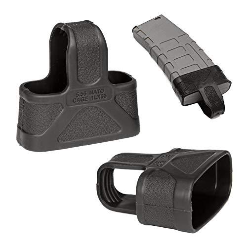 RimFly Funda para Cargador de Airsoft Slip Cover Universal para Armas Grip Glove de Protección Cubierta Picatinny con Superficie Rugosa para un Mejor Agarre Antideslizante Glock