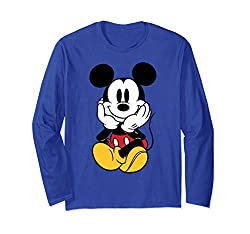 Best clothing styles for Disney Chilin Mickey Long Sleeve T-Shirt