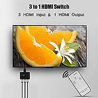 オーディオエクストラクタ実用的なHDMIスイッチHDオーディオ出力入力4K * 2K 2.97Gbps(3D TV用)