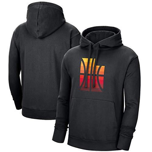 2021 Los Angeles Clippers Logo Sweat Hood Sudadera Con Capucha Para Hombre, Camisetas De Baloncesto, Camisetas Casuales, Lavables A Máquina, Adecuadas Para Deportes Al Aire Libre,Black3,XXXL