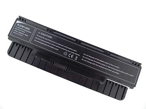 HUARUI A32N1405 56Wh (5200mAh) 10.8V Li-Polymer Akku, Ersatz Laptop Akku für ASUS N551JB N551JW N551JX N751JK A32ni405 G551JK G551JM G551JX GL551JM GL551JX G771JM G771JW GL771JM GL771JW G58JM G58JW