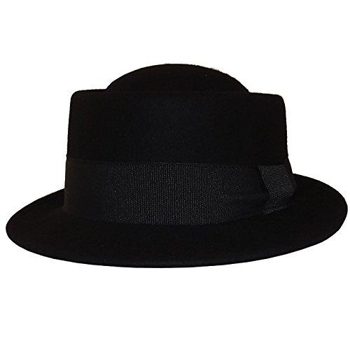 Chapeau-tendance - Chapeau Homme Noir Plaza - 55 - Homme