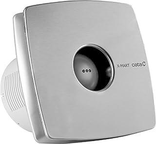 CATA X-MART 15 INOX Plata - Ventilador (Plata, Techo, Pared, De plástico, 42 dB, 2100 RPM, 320 m³/h)