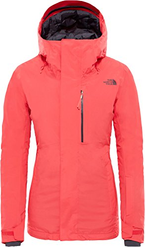 The North Face Damen Descendit Skijacke orange L