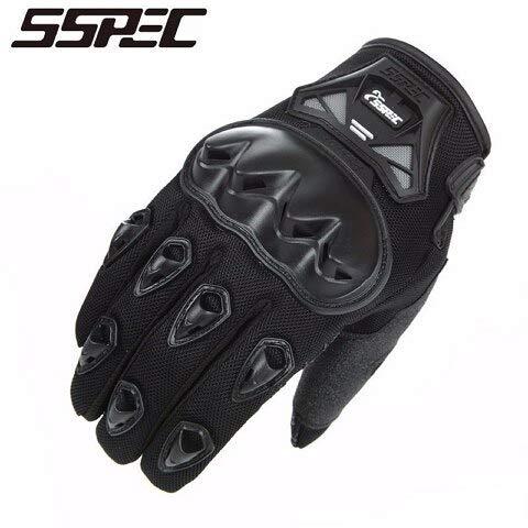 Bruce Dillon Motorradhandschuhe Herren und Damen Moto Leder Carbon Radsport Winterhandschuhe Motorrad Motocross Handschuhe - A3 XL