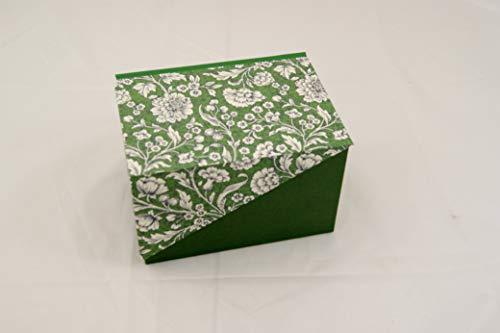 A6 Geschenkverpackung mit Zierecke, Kästchen, Dekoration, Schachtel, Schatulle, Kiste, Box,