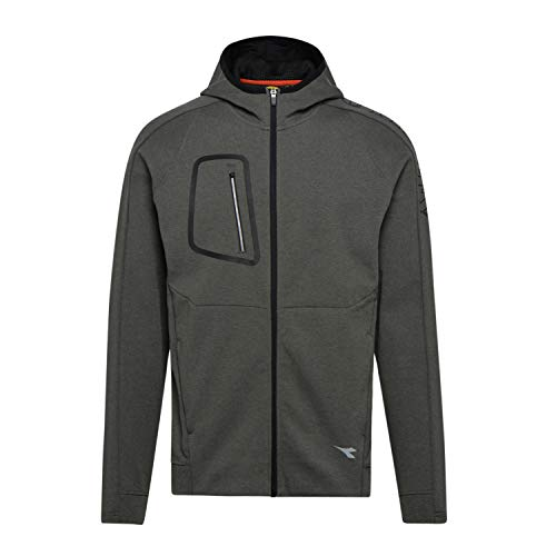 Utility Diadora - Felpa da Lavoro Sweatshirt Cross FZ per Uomo (EU L)
