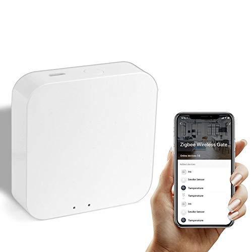 Tuya ZigBee Smart Gateway Hub Smart Home Bridge Smart Life App Wireless Fernbedienung für alle intelligenten Produkte ZigBee 3.0
