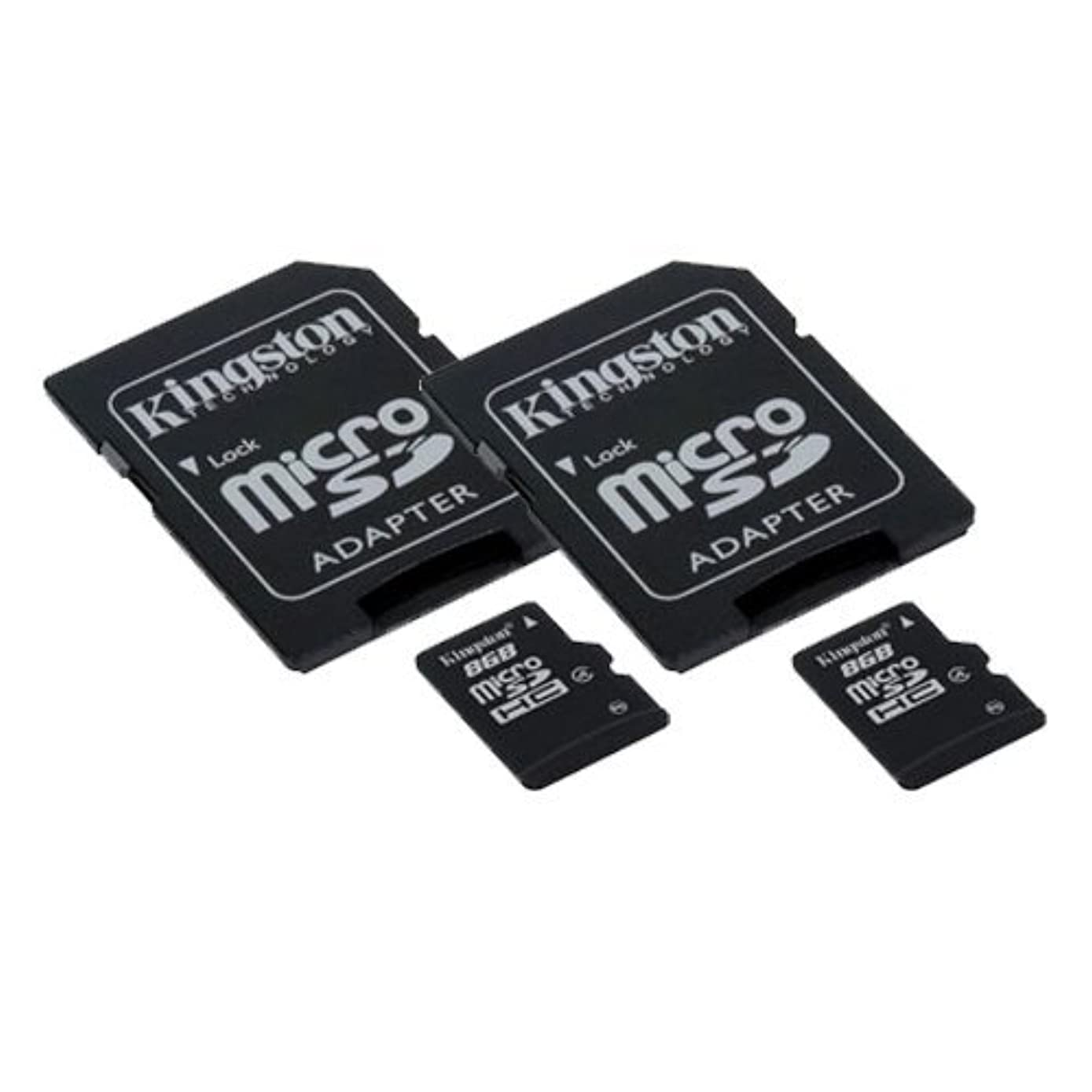 HUBSAN H501S X4 FPV Quadcopter Drone Memory Card 2 x 8GB microSDHC Memory Card with SD Adapter (2 Pack)