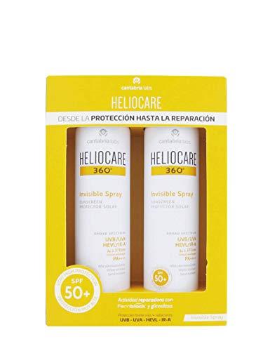 Heliocare DUPLO 360 Invisible Spray Protector Solar SPF50+, 2x200ml