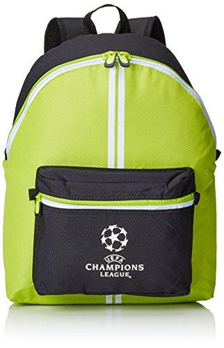 UEFA Champions League Teen Mochila, Color Verde