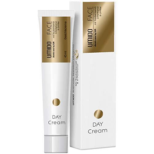1x UMIDO Gesichtscreme 45 ml Traubenkern-Öl und D-Panthenol | Tagescreme | Feuchtigkeitspflege | Gesichtspflege | Feuchtigkeitscreme (3-GPF)