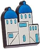 Crocs Santorini Building, Encantos para zapatos Unisex Adulto, multicolor