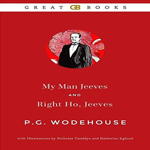 My Man Jeeves and Right Ho, Jeeves Titelbild