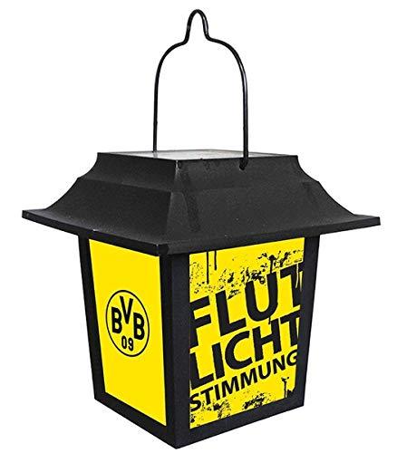 Borussia Dortmund BVB Fanartikel zonnelamp, lantaarn, tuinverlichting, terras, vijver licht