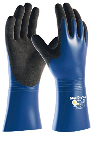 TAP France 03337 Gants Protections Chimiques Grip Intense, Taille 09