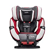 This All-In-One Convertible Car Seat fitting children from 5-110 lbs. is the only car seat you'll ever need providing rear-facing, forward facing and booster capabilities The Symphony DLX helps protect rear facing infants from 5-40 lbs., forward faci...