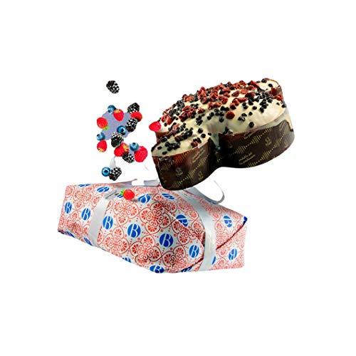 Bonfissuto Taube mit Beerenfrüchten, handgefertigt, natürliche Gärkörper, 1 kg