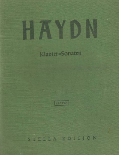 Joseph Haydn 14 Klavier-Sonaten und 2 Variationen