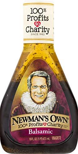Newman's Own Balsamic Vinaigrette Salad Dressing, 16-oz.