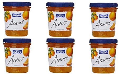 6x Zuegg Arance Marmelade Orangen Konfitüre Brotaufstriche Italien 320 g