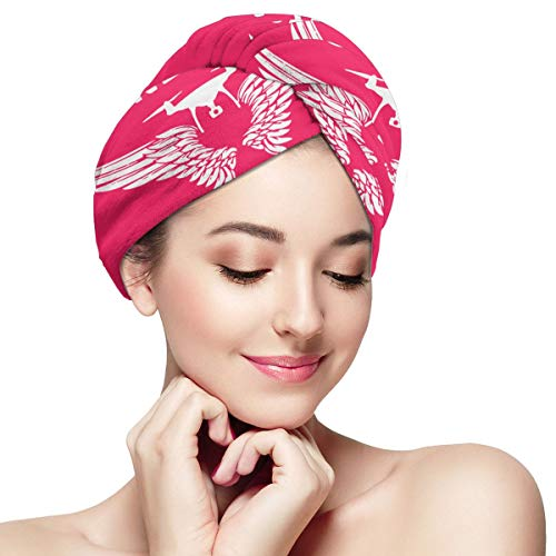 Baise Avec Pommes de Terre Séchage Rapide Doux Microfibre Séchage Tête Serviette Cheveux Sec Chapeau Enveloppé Chapeau De Bain