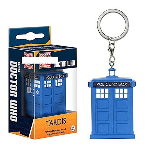 SDFM Figuras Pop Doctor Who Tardis Llavero Figura De Acción De Vinilo Juguetes para Niños Regalo...