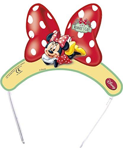 Disney Junior Lot de 2 moulins à Vent en Papier Motif Minnie Cadeaux de fête