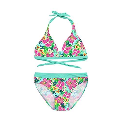 Bañador niña K-Youth® Verano Niña Conjunto Bikini