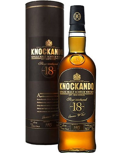 Knockando 18 Jahre 1995 - 2016 Slow Matured Whisky 0,7 L