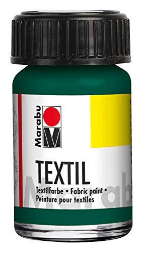 Marabu- Vaso Textil, Colore Verde Scuro, 4.5 x 3 x 3.2 cm, 171639068