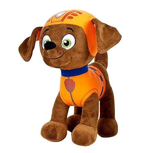JuniorToys Design für Paw Patrol Plüschtier 28cm Helfer auf Vier Pfoten als kuschelige Plüschhunde (Zuma Bademeister Labrador)