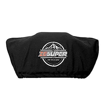 ZESUPER Waterproof Soft Winch Cover Waterproof,Winch Protective Cover with Elastic Band Fits Most Electric Winches from 8500 to 13000 Lbs