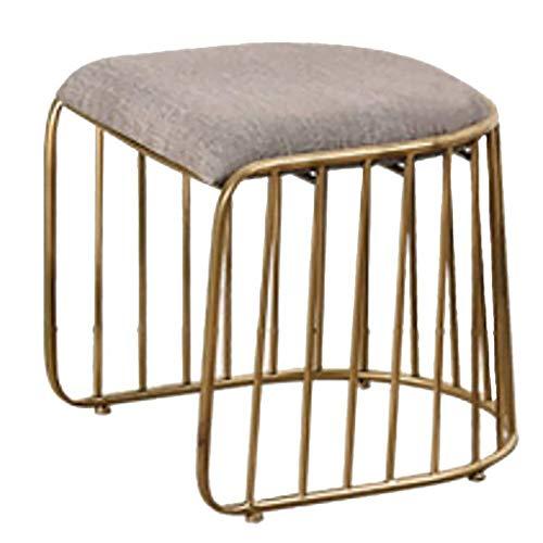 TIANQIZ Barhocker Barhocker Kreativer Stuhl Barhocker Designer Freizeit Einzelsessel Barhocker Industriehocker Frühstückshocker Gold Hochstuhl Esszimmerstuhl (Color : A)
