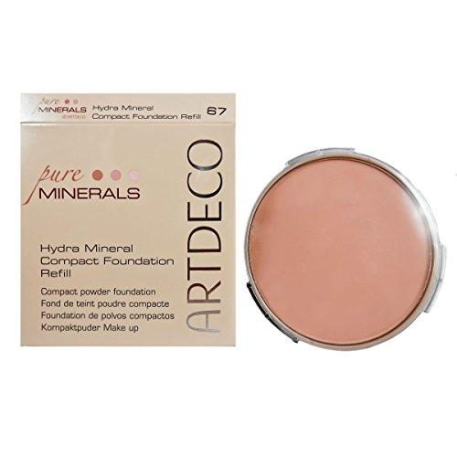 Artdeco Hydra Mineral Compact Foundation Refill, 67, Natural Peach (1 Stück)