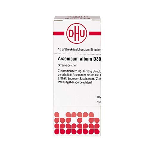 DHU Arsenicum album D30 Streukügelchen, 10 g Globuli