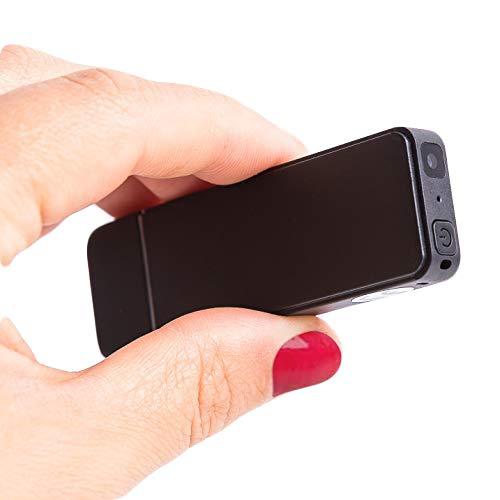 Registratore Vocale USB da 16 GB e Mini Videocamera HD con Rilevamento del Movimento - Batteria da 4,5 ore per Modalità Video - DoubleREC di Atto Digital