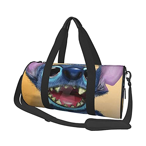 Lovely Duffel Bag Folle Gym Bag Bolsas de Viaje, para Deporte, Militar, Acampar, Actividades al Aire Libre, Bolsa de Asas, Juegos de 17,7 x 9 Pulgadas