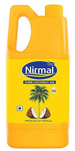KLF Nirmal 100% Pure Coconut Oil, 1L Jar
