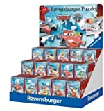 Cars Mini Puzzle von Ravensburger 54 Teile in zufälliger Auswahl - Lierferumfang 1 Stück/ Puzzle