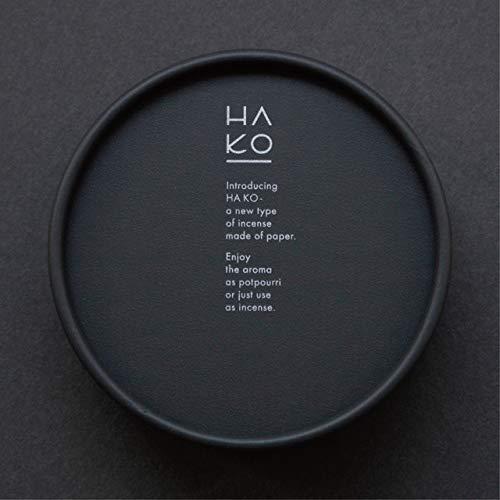 PAPER INCENSE HAKO 葉っぱのお香 HA KO 黒 6枚入 薫寿堂 Kunjyudo 日本製 (Focus(レモングラス))