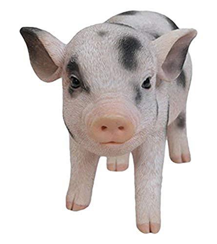 Hi-Line Gift Ltd Standing Baby Pig with black Spots