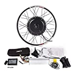 """48V Rear Wheel Electric Bicycle Conversion Kit with 1000/1500W Brushless Gearless Motor for 26""""/27.5""""/28""""/29""""/700C MTB E-Bike(48V 1000W, 700C)"""