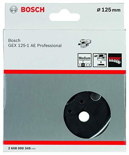 Bosch Professional Schleifteller für GEX 125-1 AE (Ø 125 mm, mittelhart)
