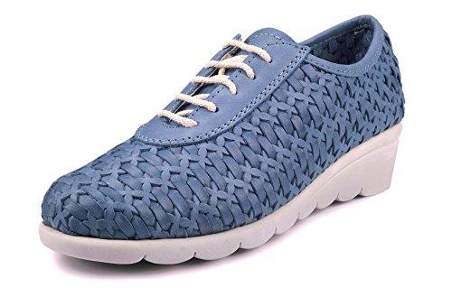 The Flexx Bonitas Zapato Mujer Azul Vaquero 37 EU