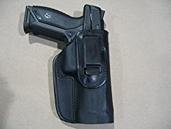 Ruger American Pistol IWB Leather In The Waistband Concealed Carry Holster