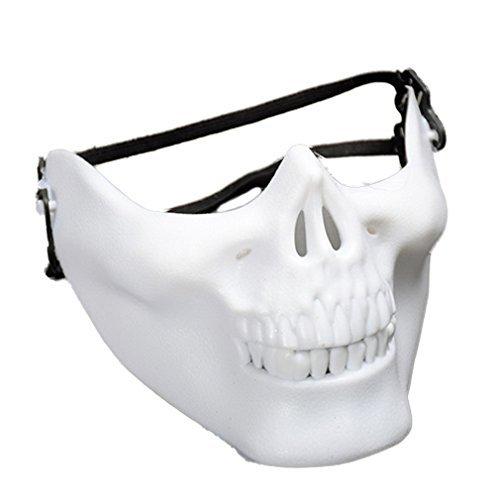 YAZILIND Moda mascarilla máscara de Cabeza de Horror cráneo de Disfraces Fiesta de...